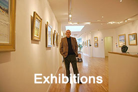 Exhibitions of Robert Kelsey's Paintings