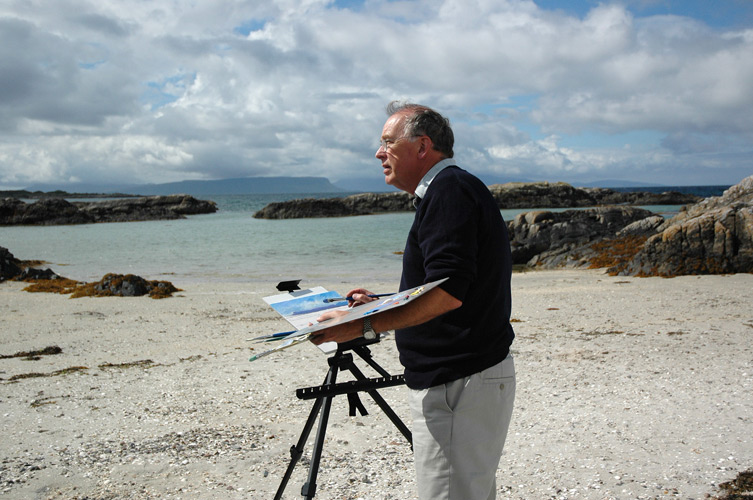 P027_Painting_on_the_Beach_in_Arisaig_1