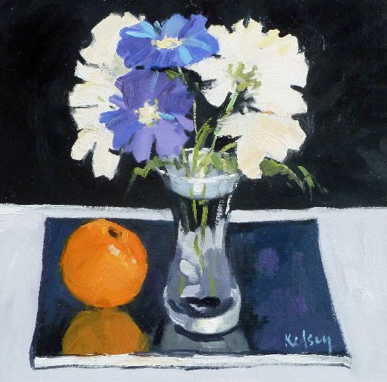 RK0162-STILL LIFE in BLUE