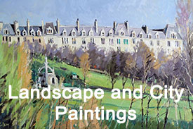 Robert Kelsey's Landscape and City Paintings Gallery