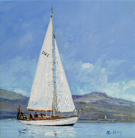 RK0149-SAILING ON GARE LOCH