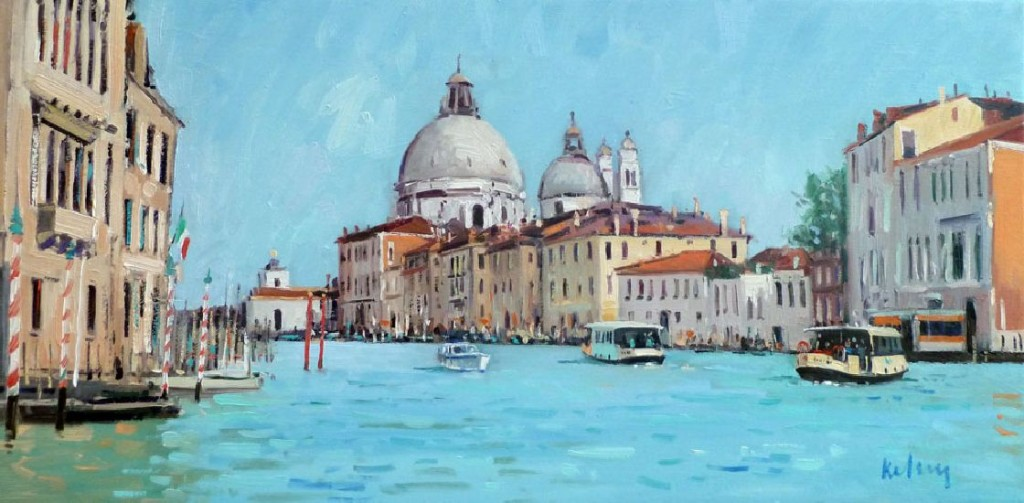 RK0163-Vaporetti on the Grand Canal