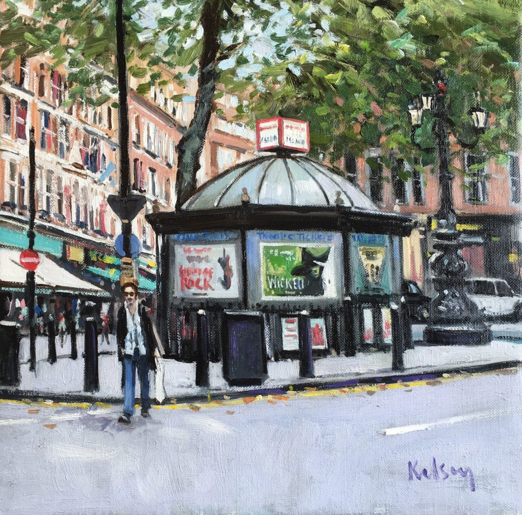 Ticket Kiosk, Charing Cross Road 12 17