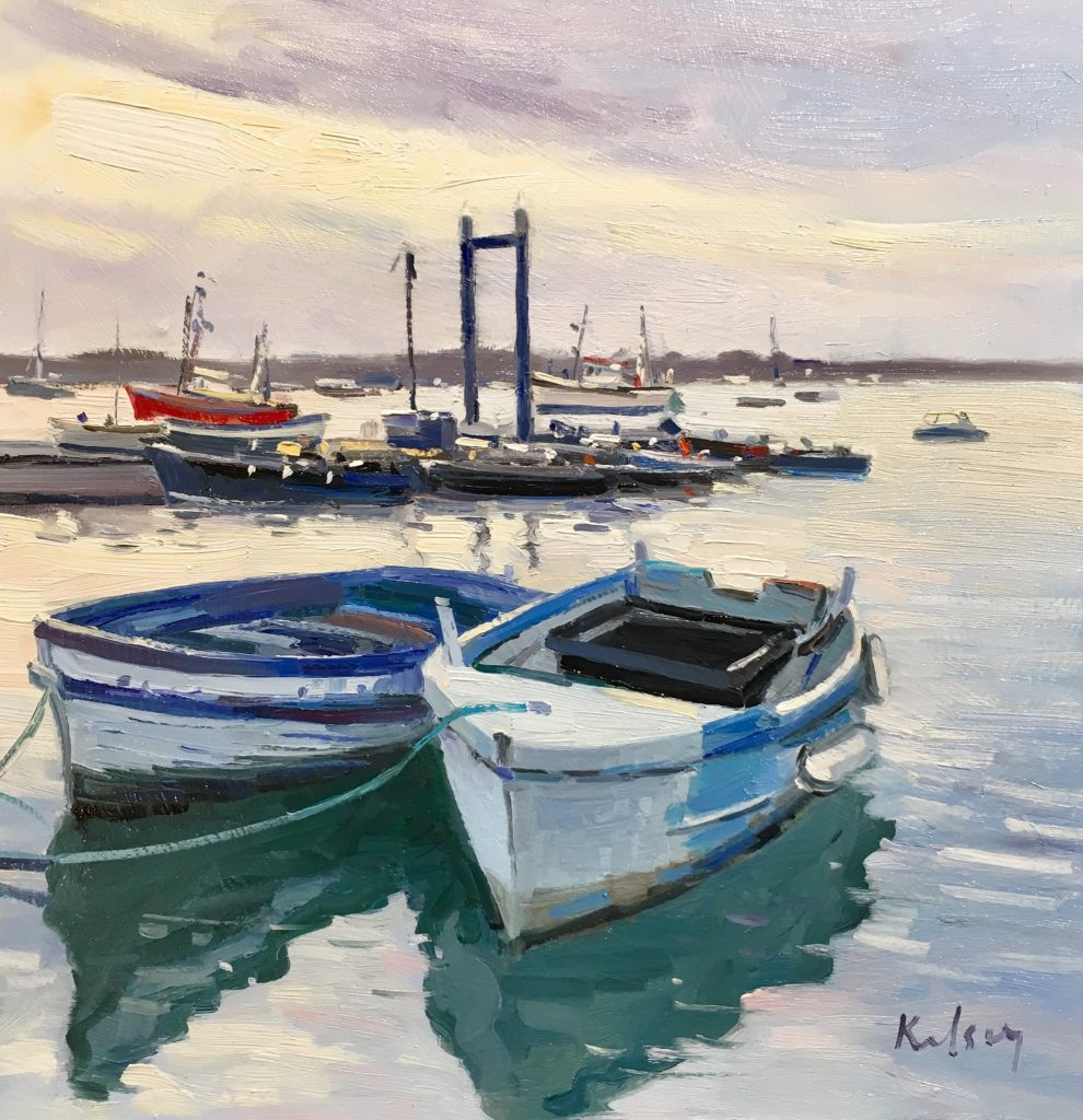 Twilight Moorings, West Mersea