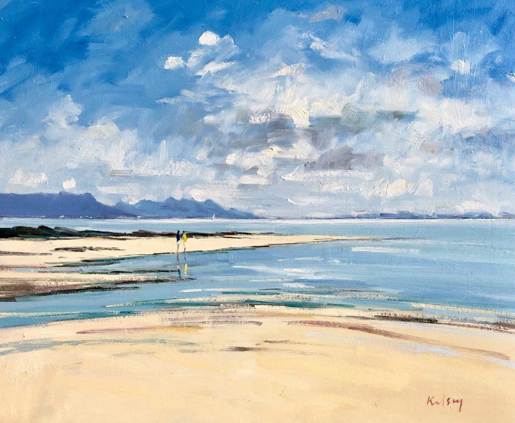 Beach Reflections, Arisaig 01 19