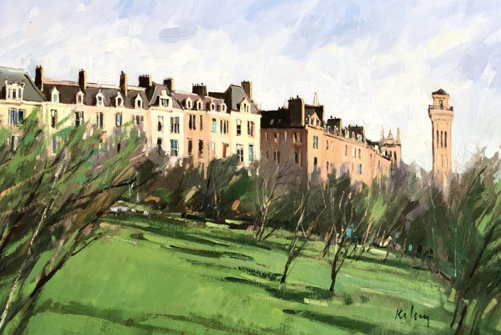 Park Terrace from Kelvingrove 09 19