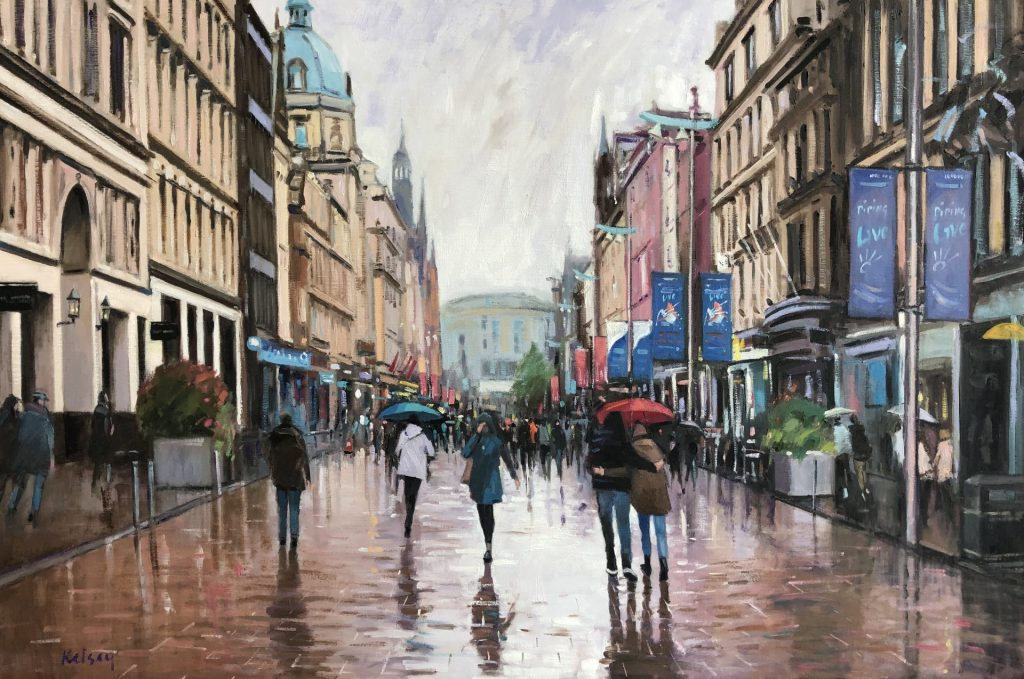 Sudden Shower, Buchanan Street 09 19