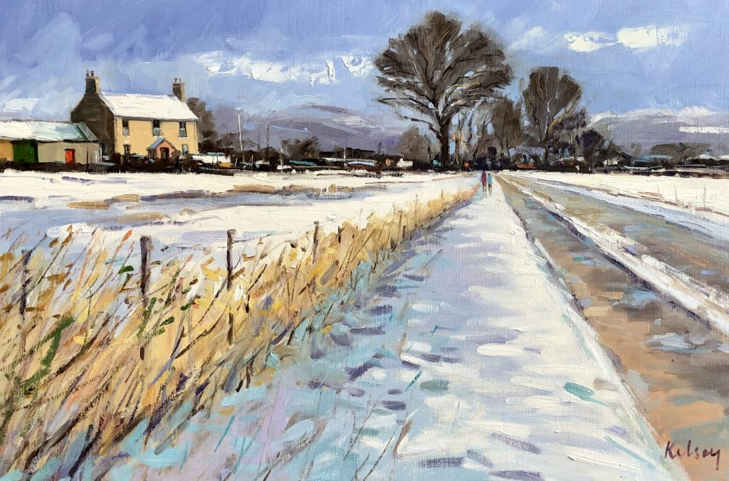 Winter Afternoon, Perthshire