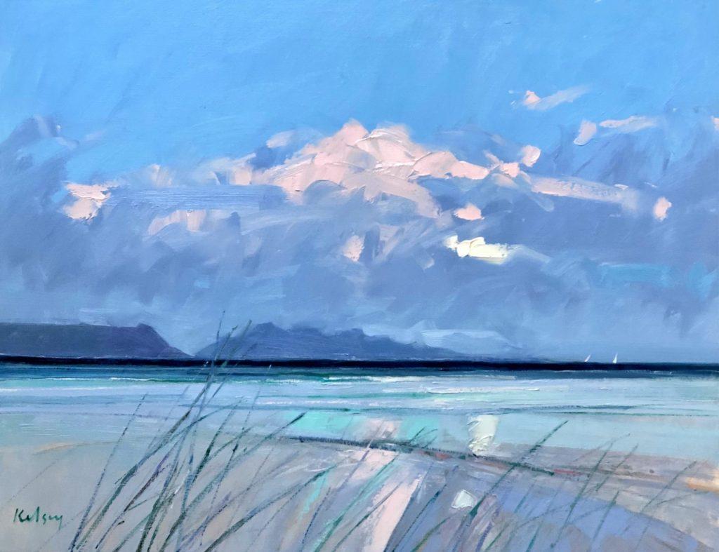 Beach Grass and Driftwood 10 20