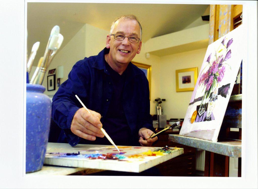 ROBERT IN THE STUDIO